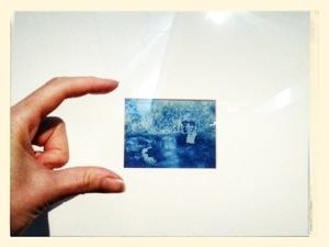 smal cyanotype
